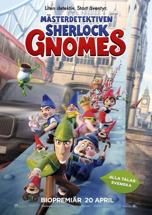 M�sterdetektiven Sherlock Gnomes