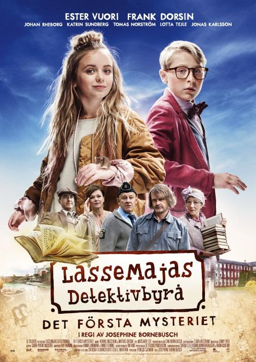 LasseMajas Detektivbyrå - Det första mysteriet (Sv