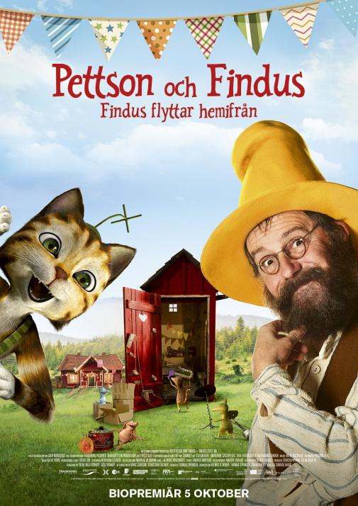 Pettson och Findus - Findus flyttar hemifrån (Sv.