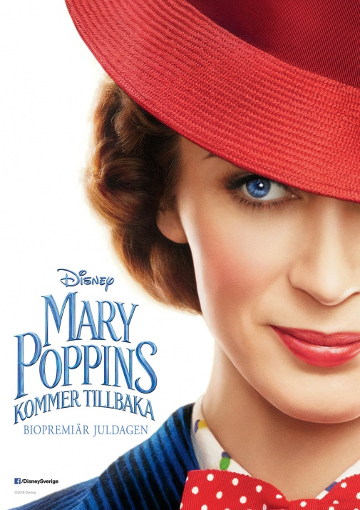 Mary Poppins kommer tillbaka (Eng tal. sv text)