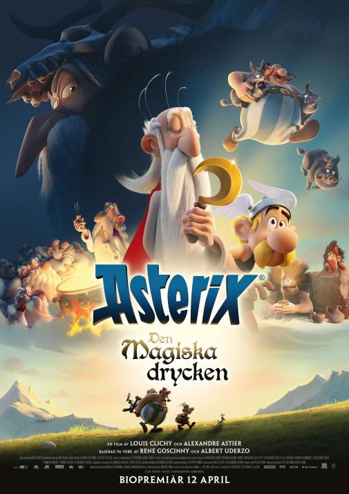 Asterix: Den magiska drycken (Sv. tal)