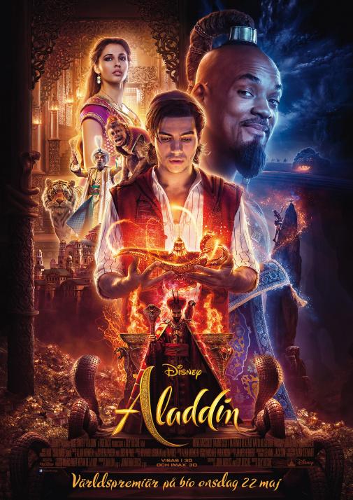 Aladdin (live action) (Eng. tal)