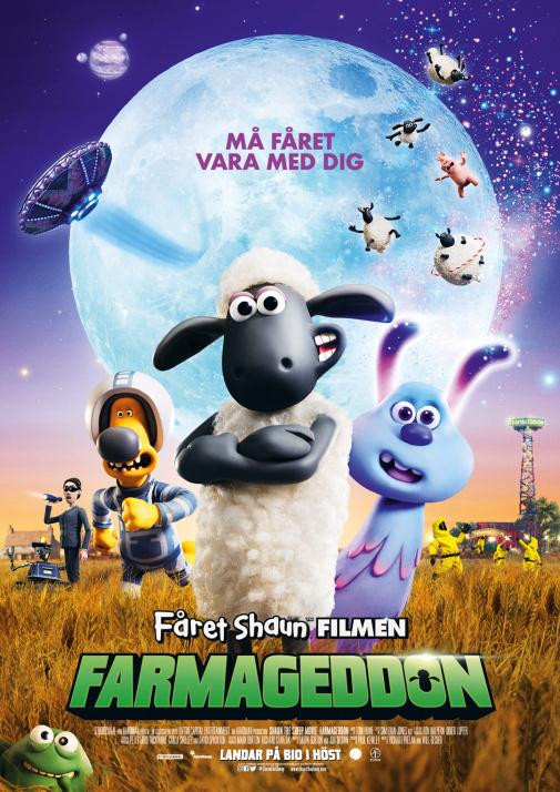 Fåret Shaun Filmen - Farmageddon (Sv. tal)